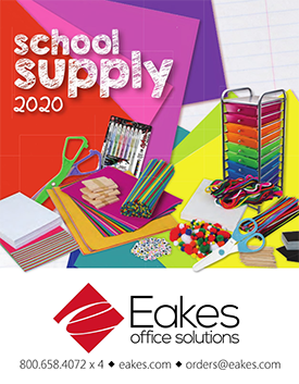Eakes School Supply Catalog Cover