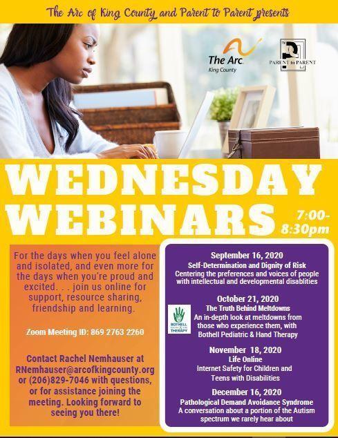 Wednesday Webinars: Pathological Demand Avoidance Syndrome