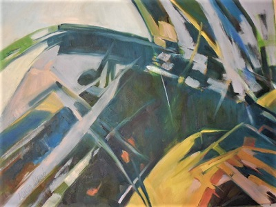Adult Class: Abstracts In Oils