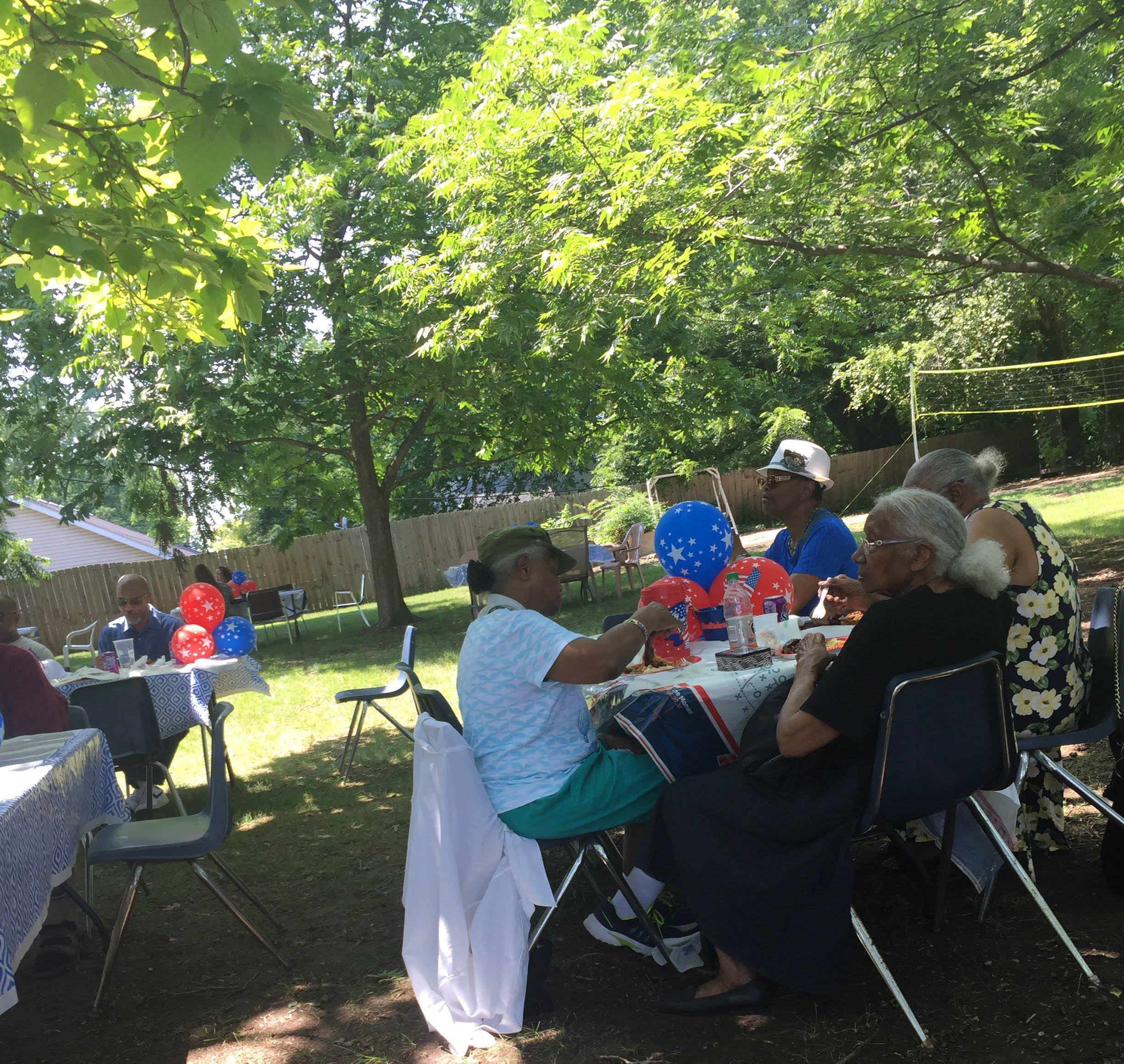 Longtime neighbor and Front Porch Alliance supporter, Mrs. Martha Tolbert, hosted a community picnic on July 1st. It was a great gathering, and FPA was honored to be included.