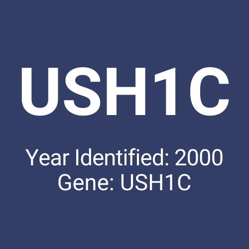 USH1C (Year Identified: 2000 | Gene: USH1C)