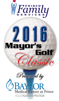 Mayor's Golf Classic