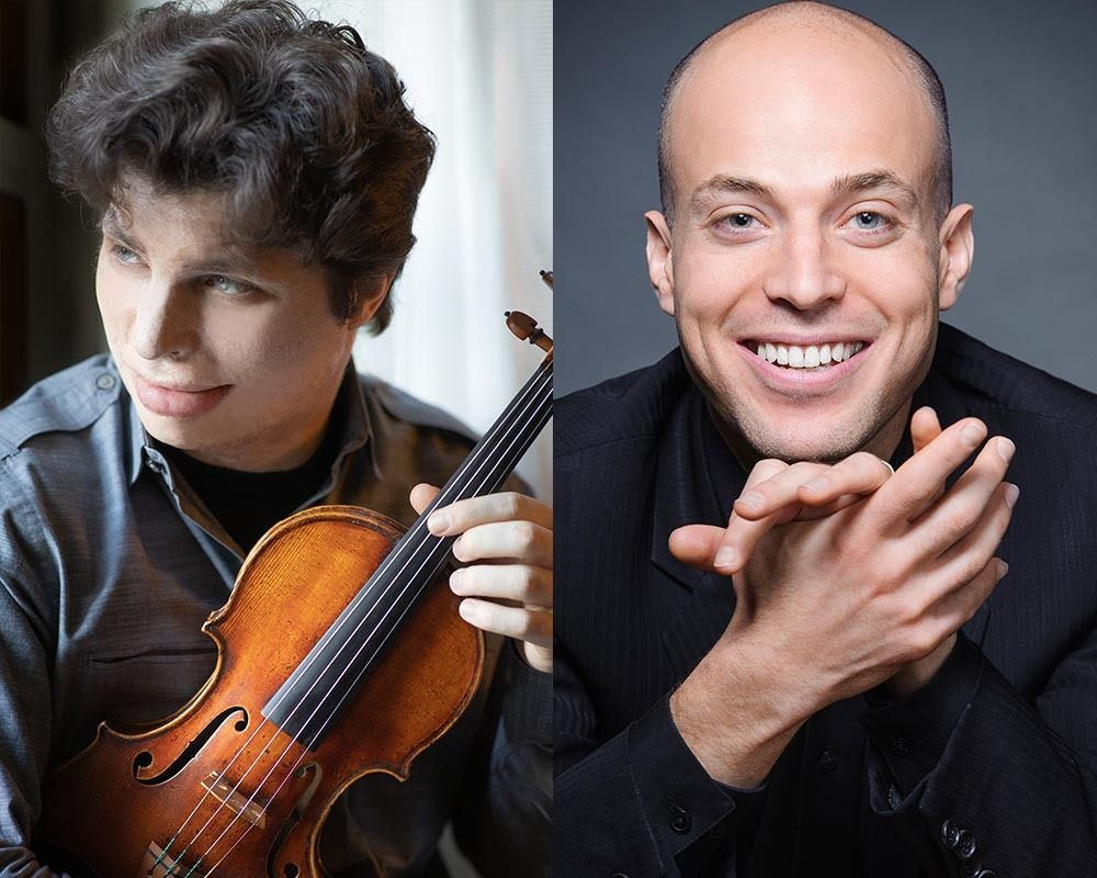 Augustin Hadelich, violin & Orion Weiss, piano