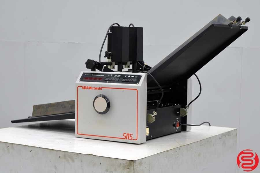 Micromatic 4000 Numberer