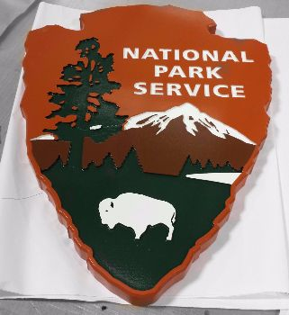 HDU National Park Sign