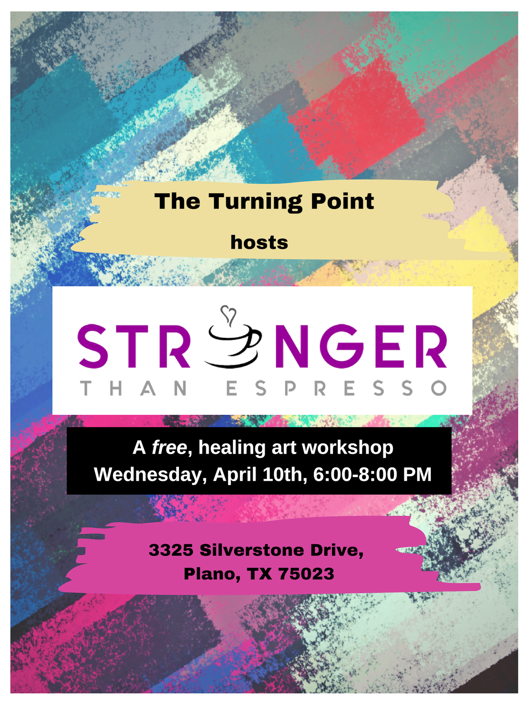 Healing Art Workshop by Stronger than Espresso
