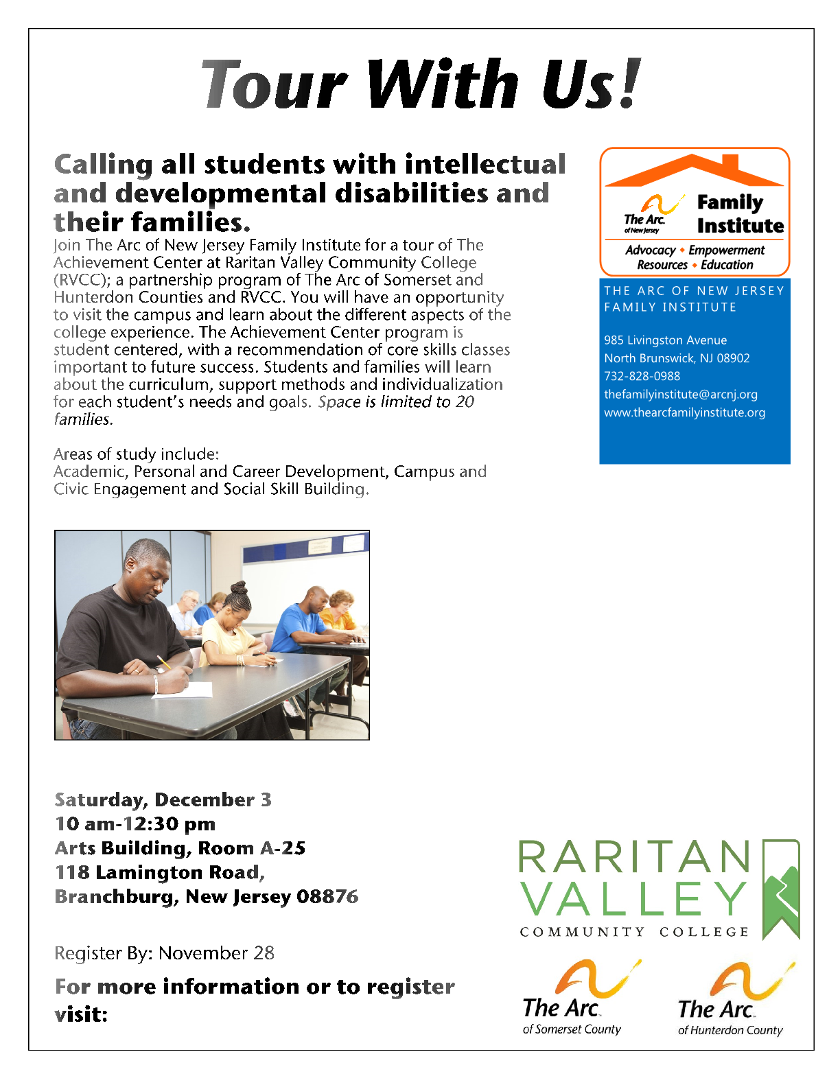 Raritan Valley Community College Tour - Somerset County