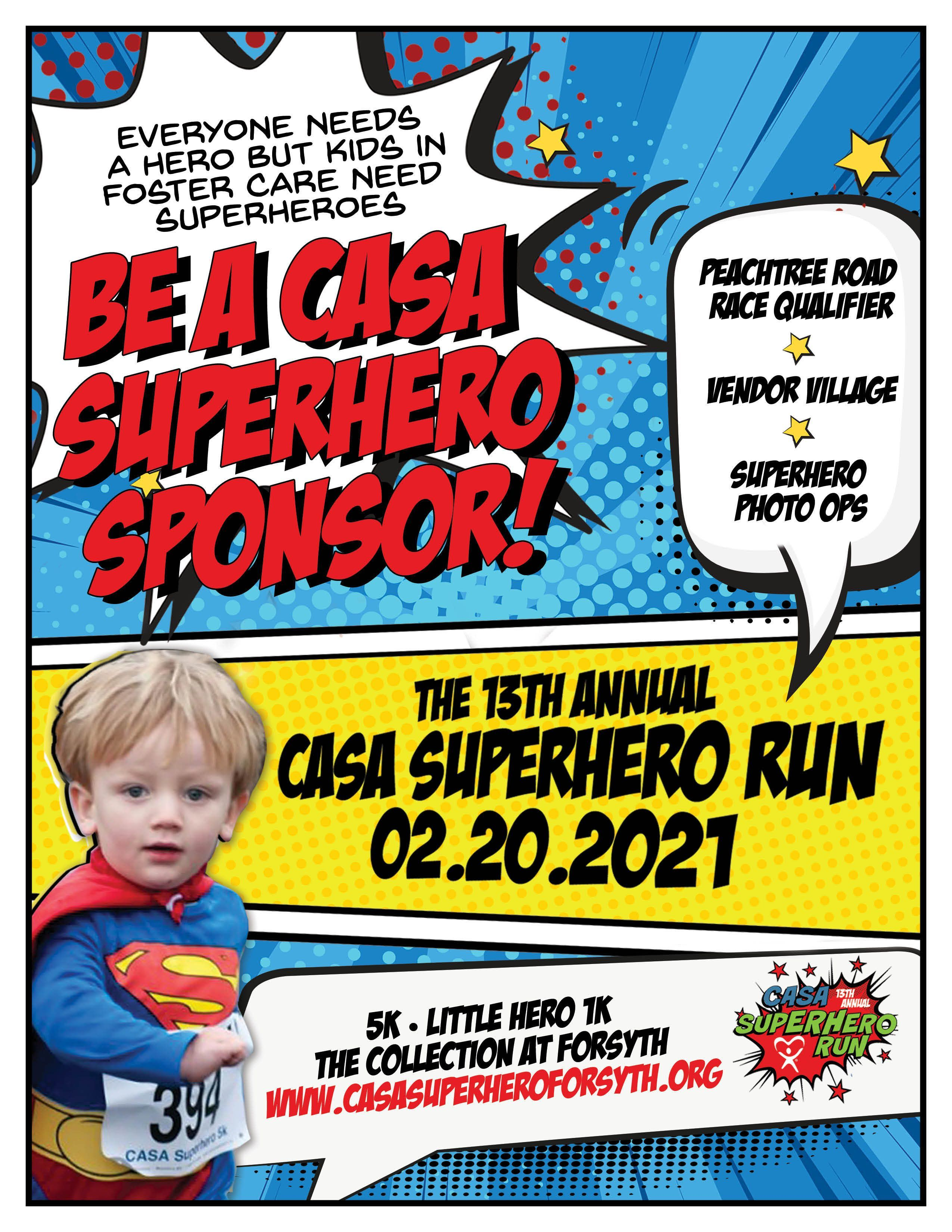 Sponsor the Superhero Run!