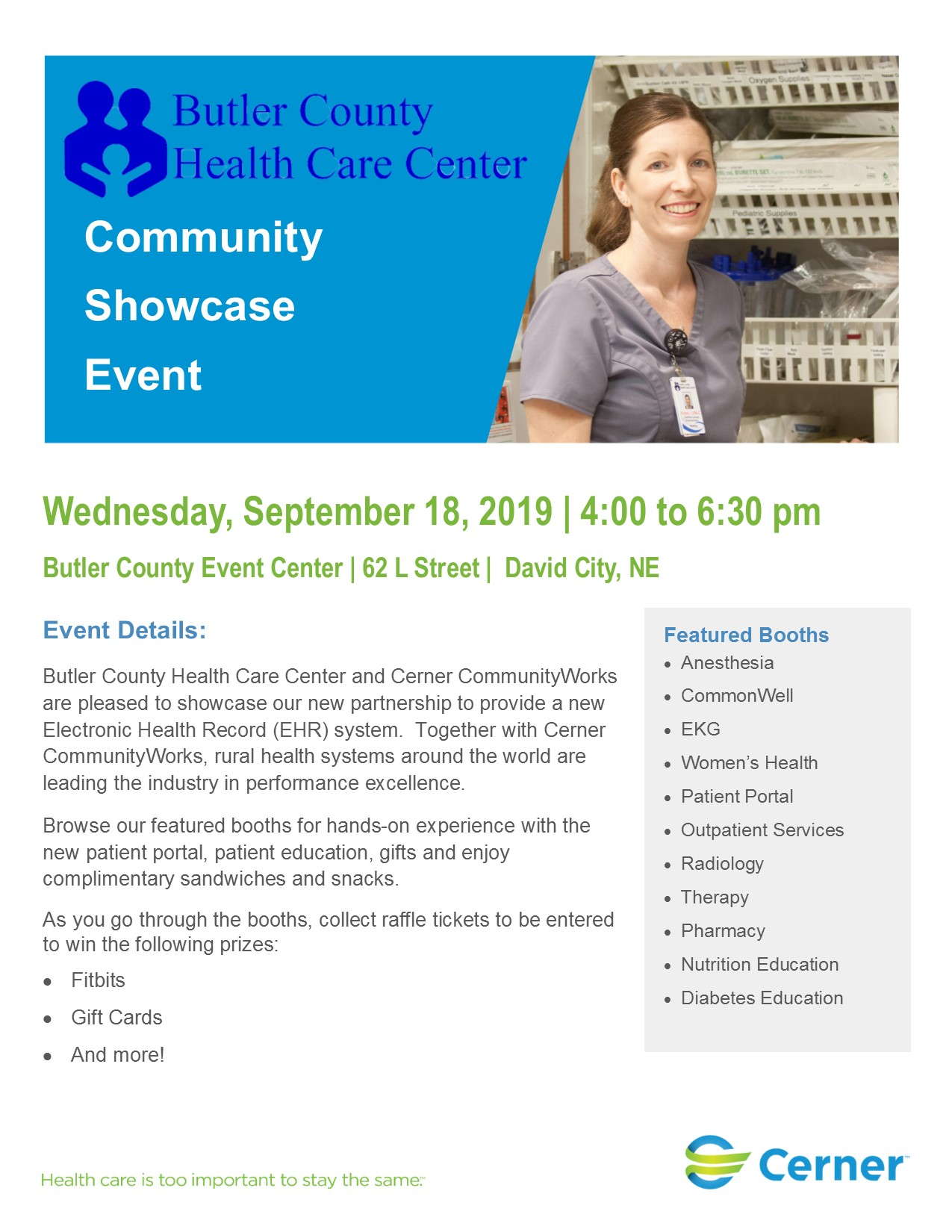 Butler County Health Care Center - Community Showcase Event
