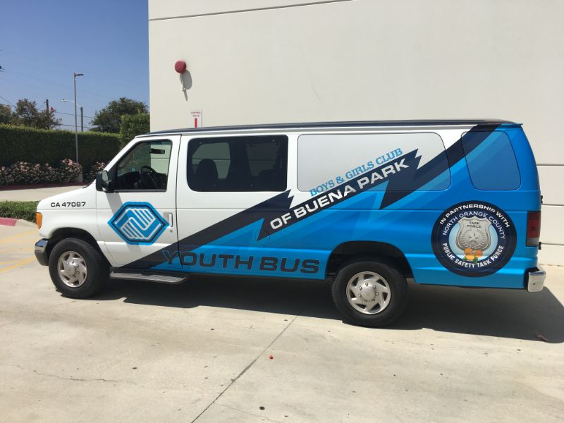 Van Wraps for Clubs in Buena Park CA