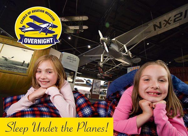 Museum Overnights - Sleep Under the Planes!