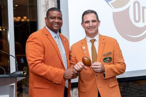 JOSÉ C. ROMANO INSTALLED AS  ORANGE BOWL COMMITTEE PRESIDENT & CHAIR