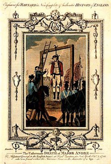 1780: British Major John André Hanged As a Spy