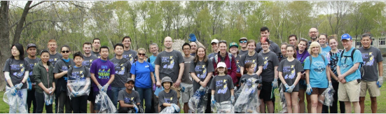 Annual Earth Day Charles River Cleanup