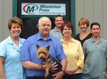 Minuteman Press Olympia WA Staff Quality Service Quick Turnaround