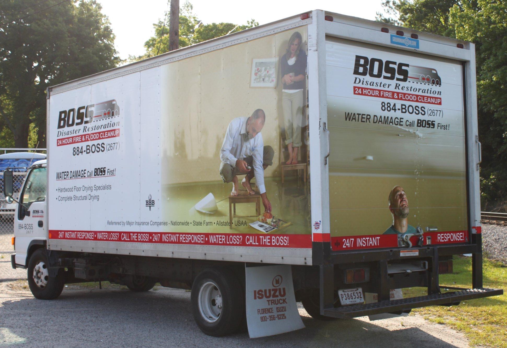 Boss Box Truck