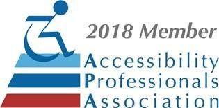 2018 Member Accessibility Professionals Association logo