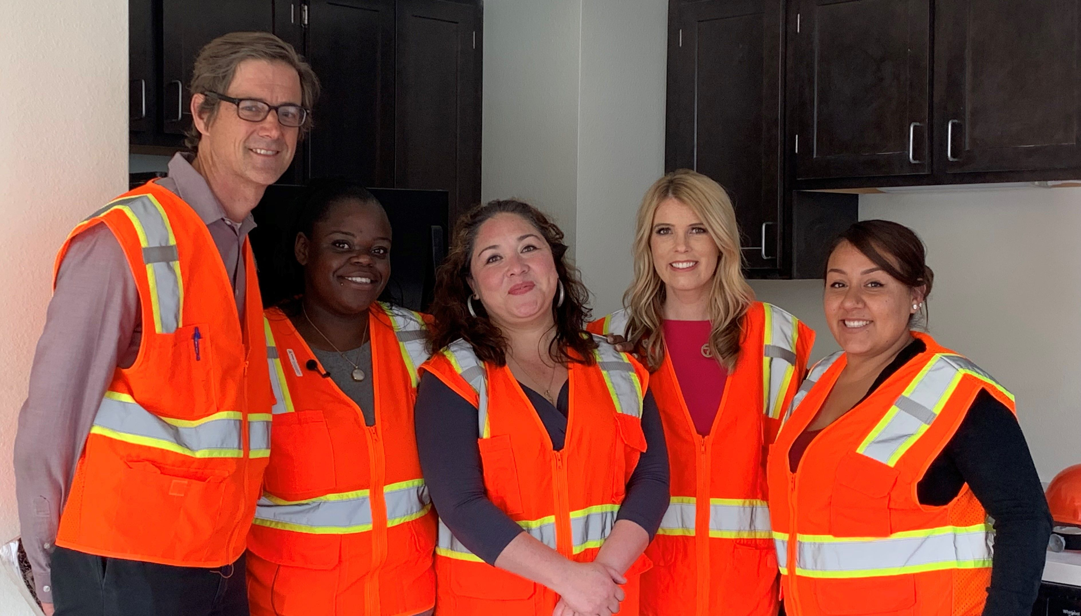 Star Community Home moms tour new permanent housing