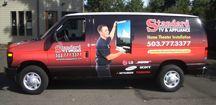 Standard TV & Appliance Van