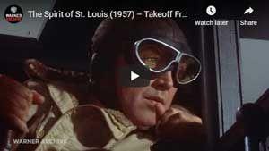 Spirit of St. Louis Takeoff Scene