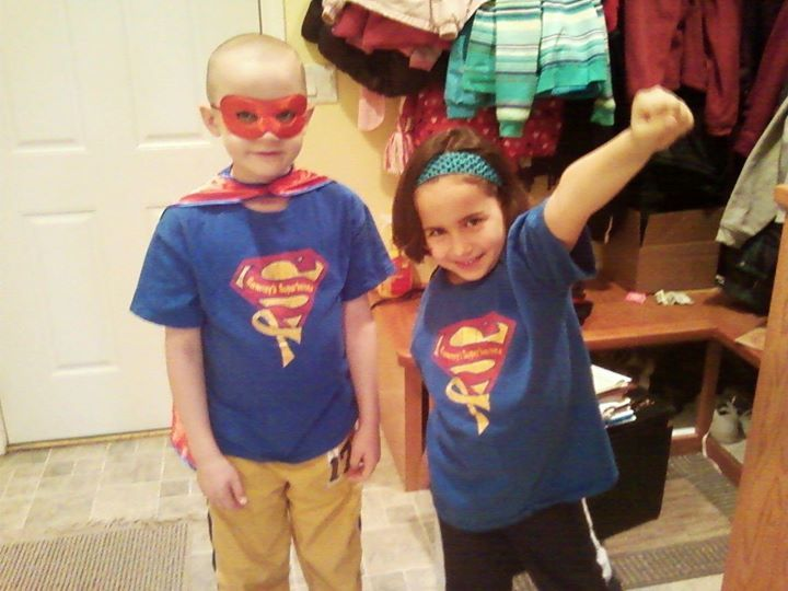 Jack and Ava Hoffman are showing off their superhero powers today! Thank you Hoffman's!!