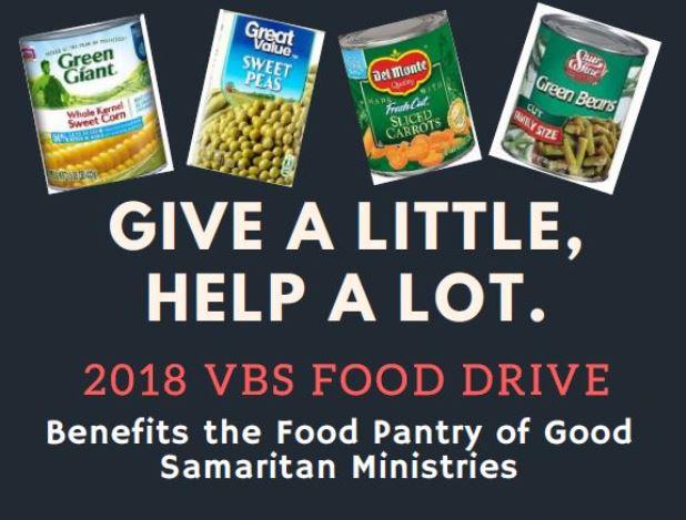 VBS Food Drive