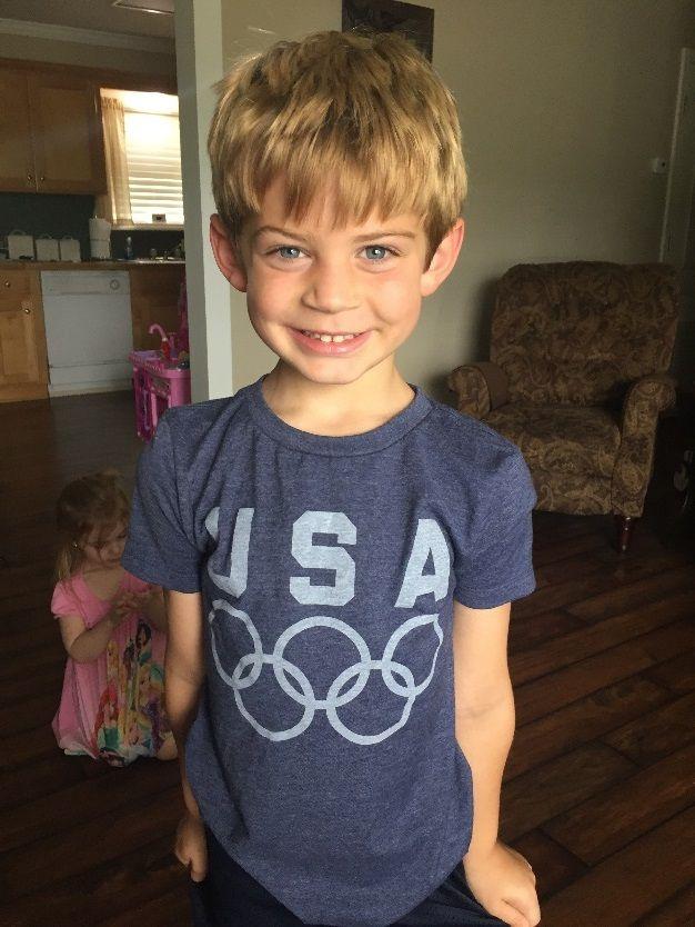 Picture of Elise's son Hunter Faucheaux