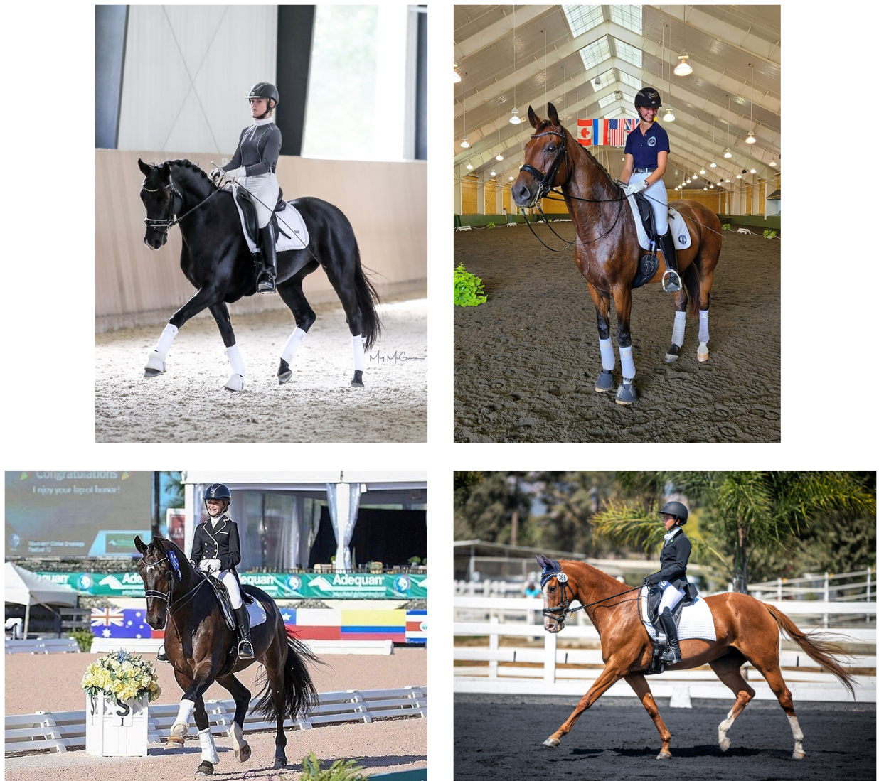 Four Young Riders Awarded Grants from TDF's Cynthia Aspden Youth and Young Adult Development Fund