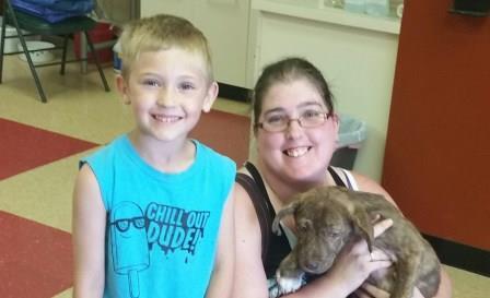 adopting family, adopting a puppy