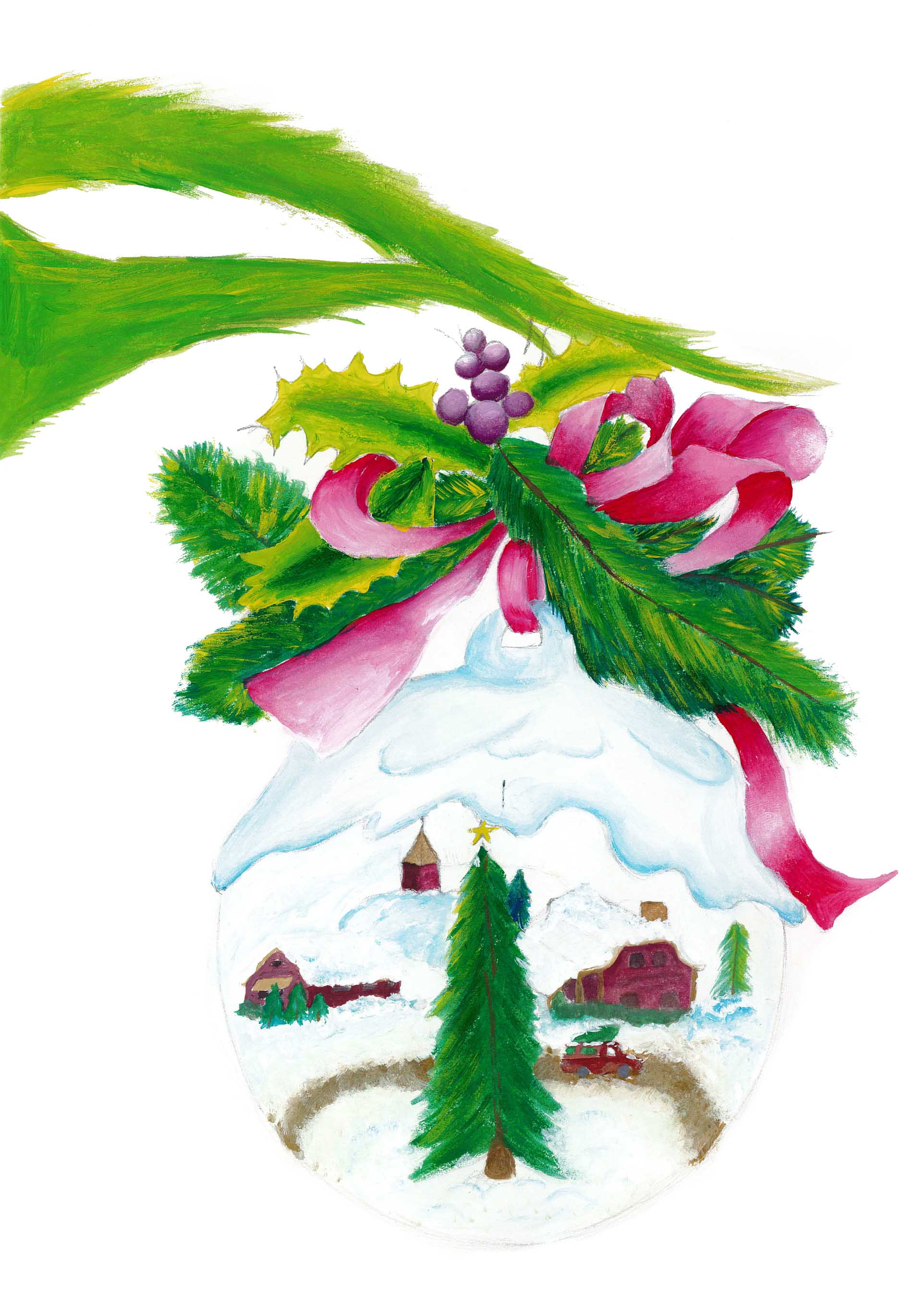 15 - Ornament - Jocelyn Fischer - 10th Grade - Pierce City High School