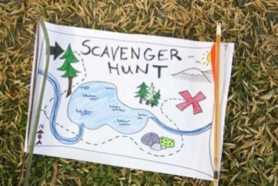 Scavenger Hunts: Alphabet/Numbers/Colors Scavenger Hunt