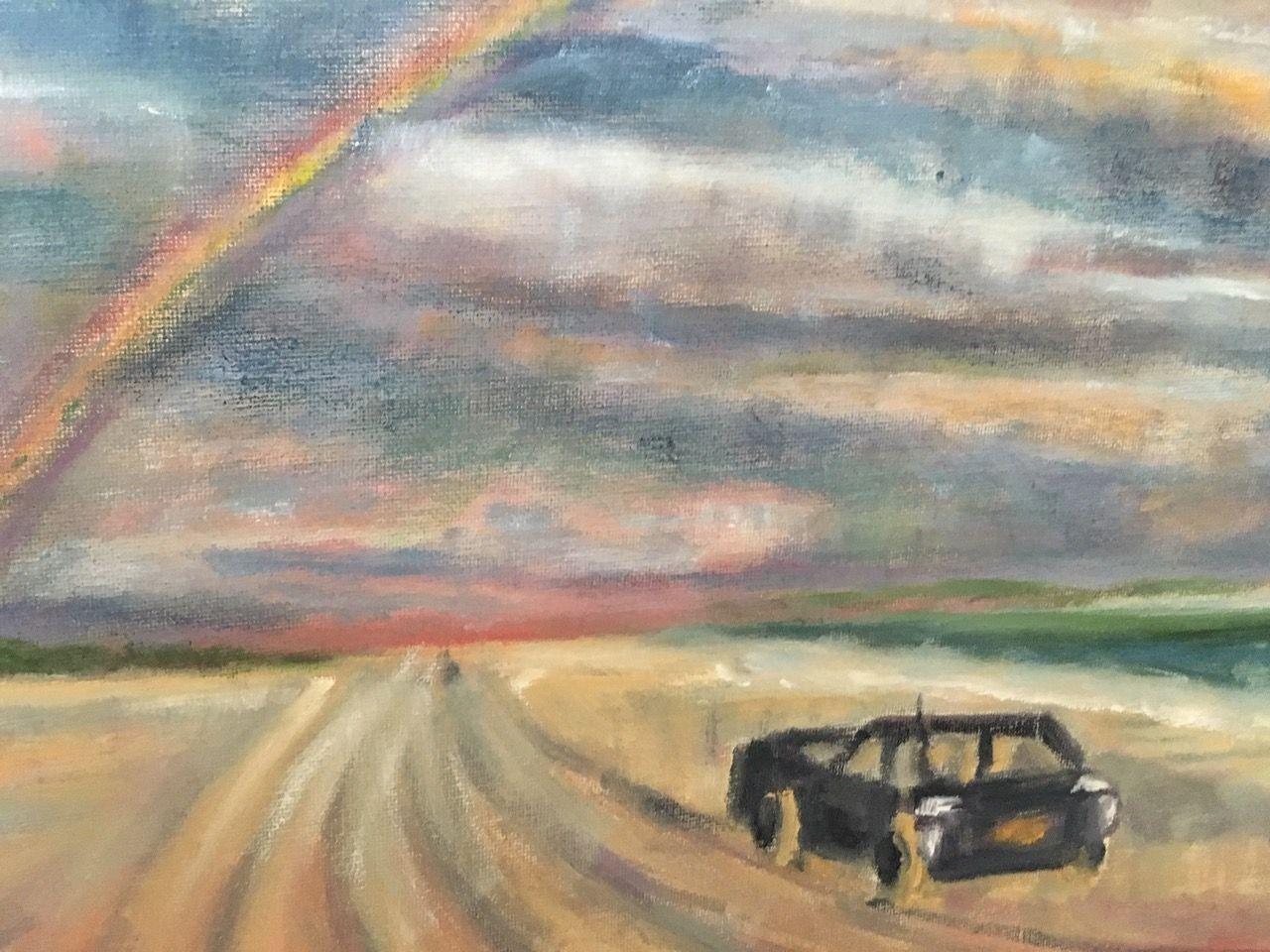 Artist: Janet Fink, Oil on Canvas