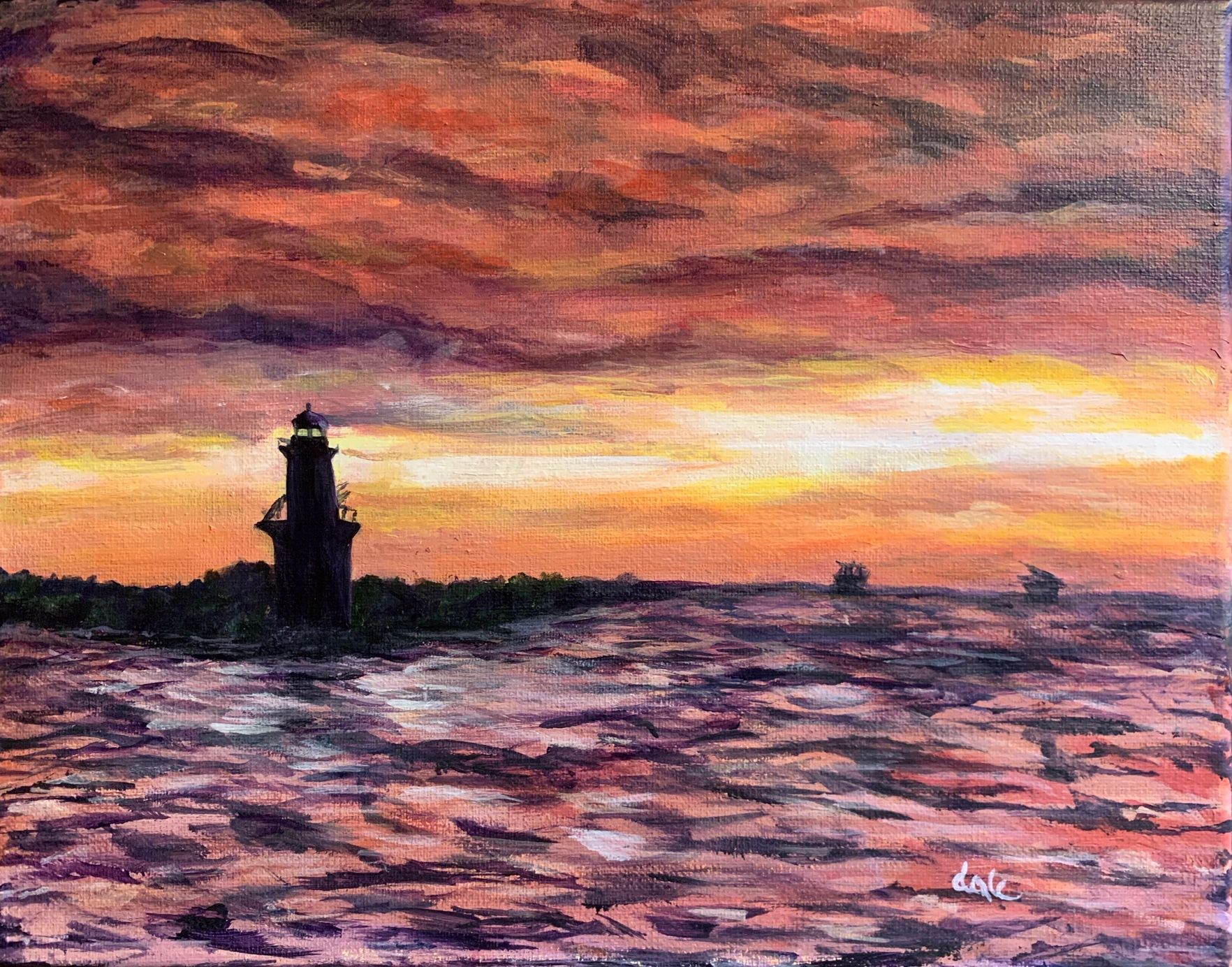 Artist: Dale Boker Krongel, Acrylic on Canvas