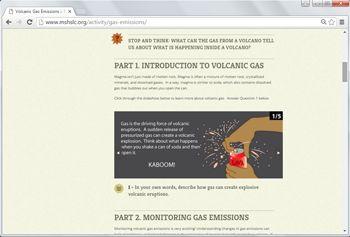 2. Volcanic Gas Emissions