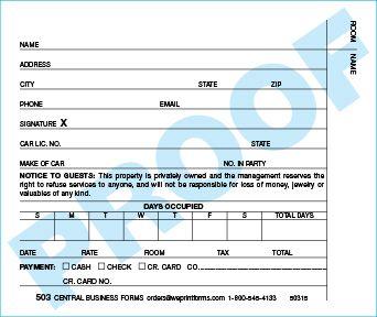 Standard 503 Form