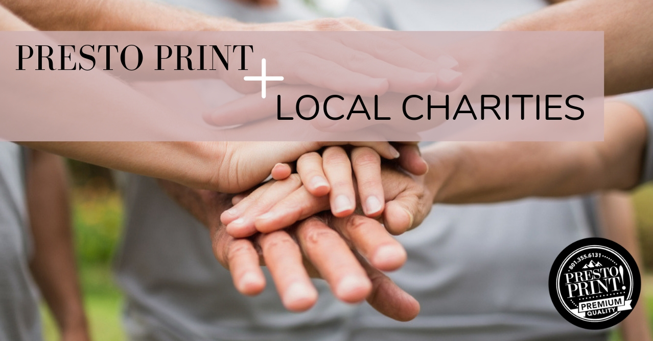 Presto Print + Local Charities