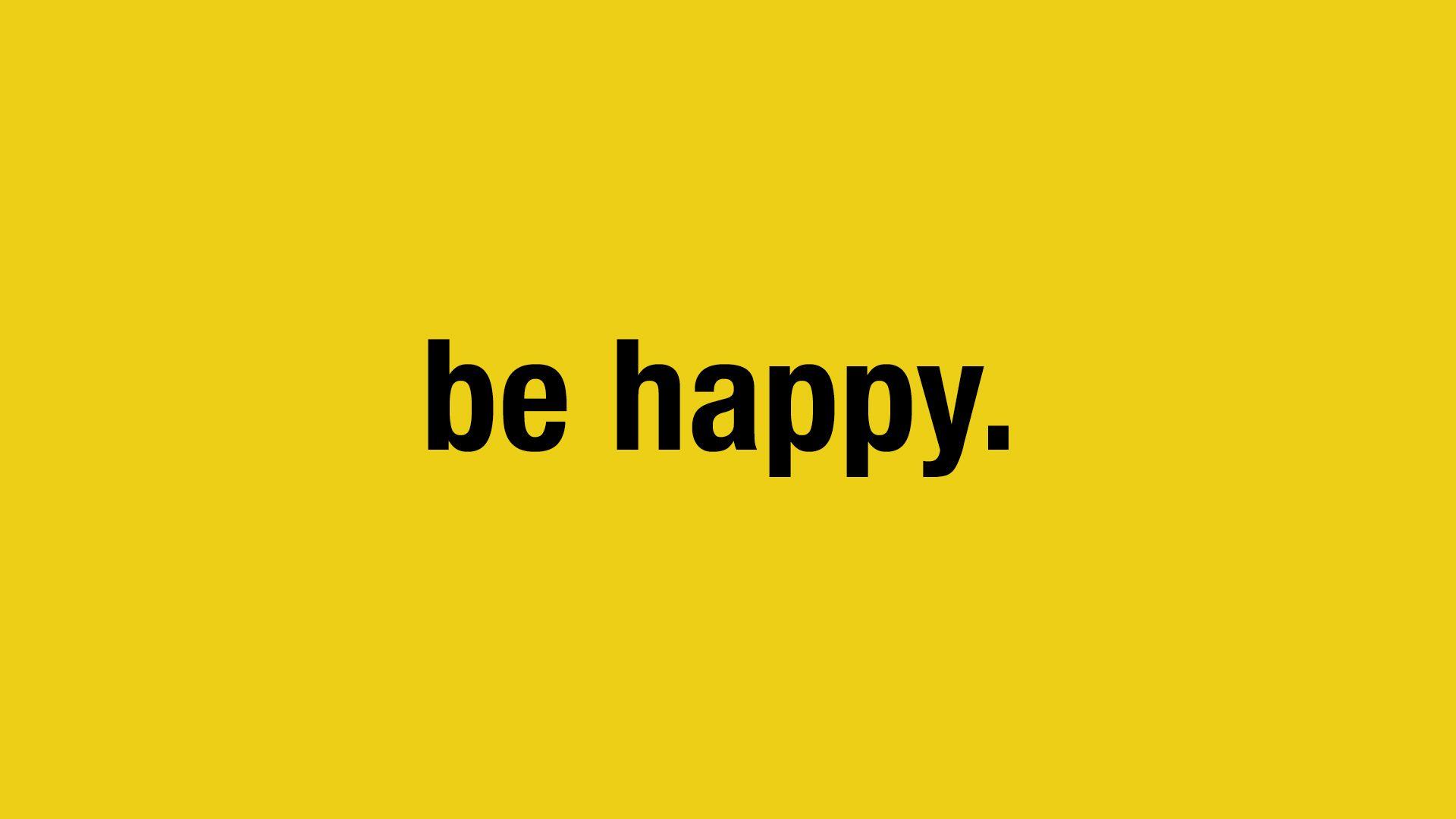 BE HAPPY SHIRTS