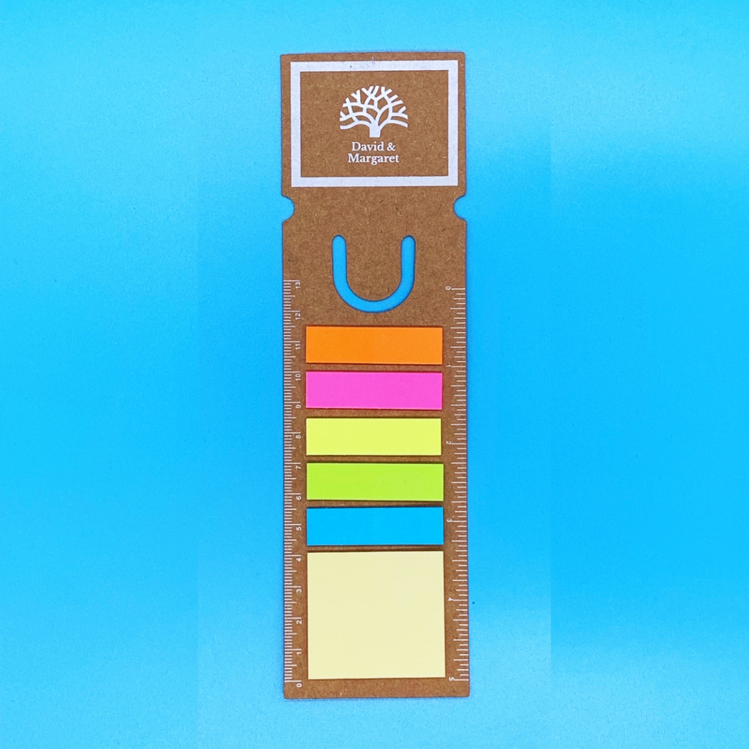 Agency Post-its/Ruler/Bookmark