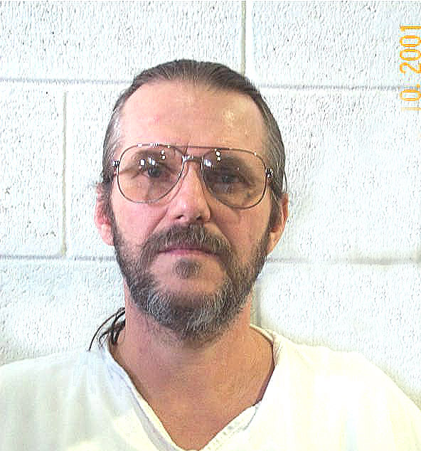 Bruce Dallas Goodman, an innocent man, booked into jail in 1986.