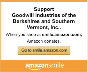 Support Goodwill Industries of the Berkshires and Southern Vermont, Inc. When you shop at smile.amazon.com Amazon donates.