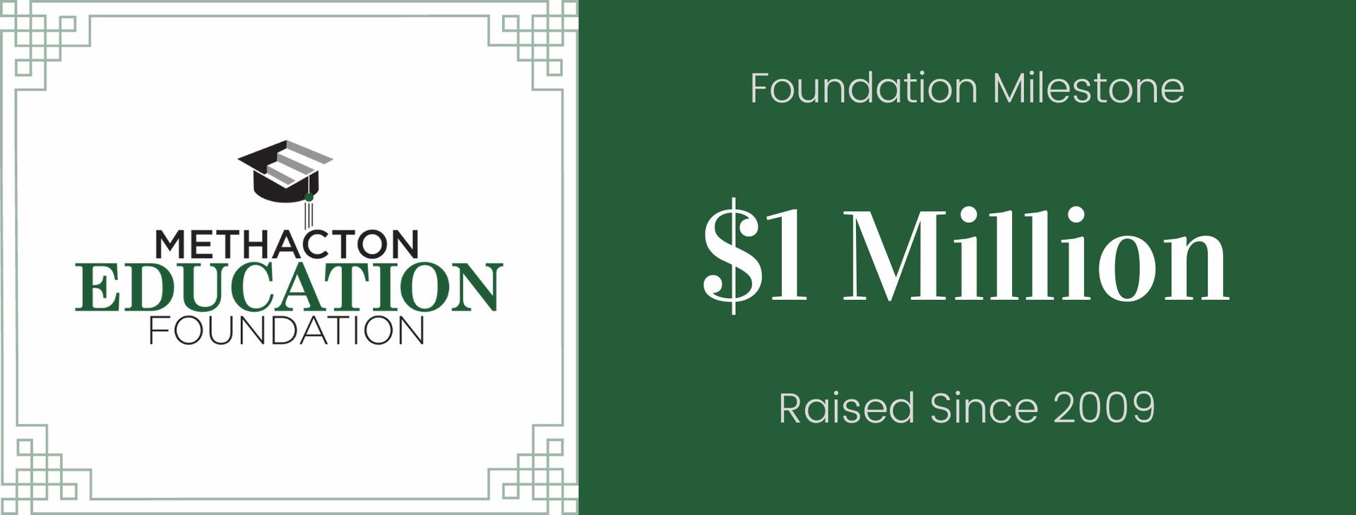 Foundation Reaches Major Milestone