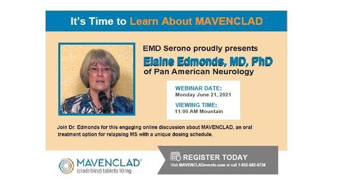MAVENCLAD Event with Dr. Edmonds