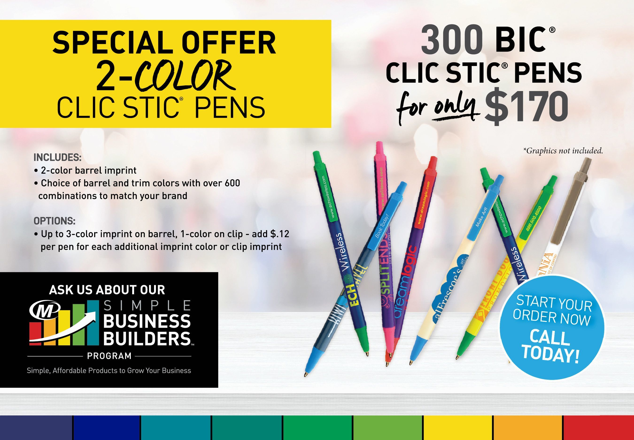Special Offer on Pens