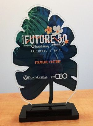 SmartCEO Future 50 award