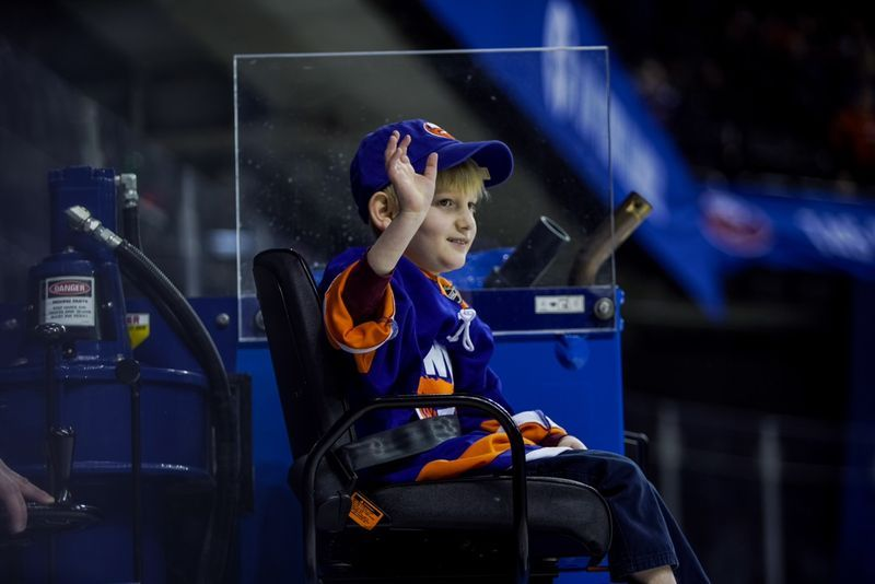 OVER $110K RAISED FOR BSF AT NEW YORK ISLANDERS HOCKEY GAM
