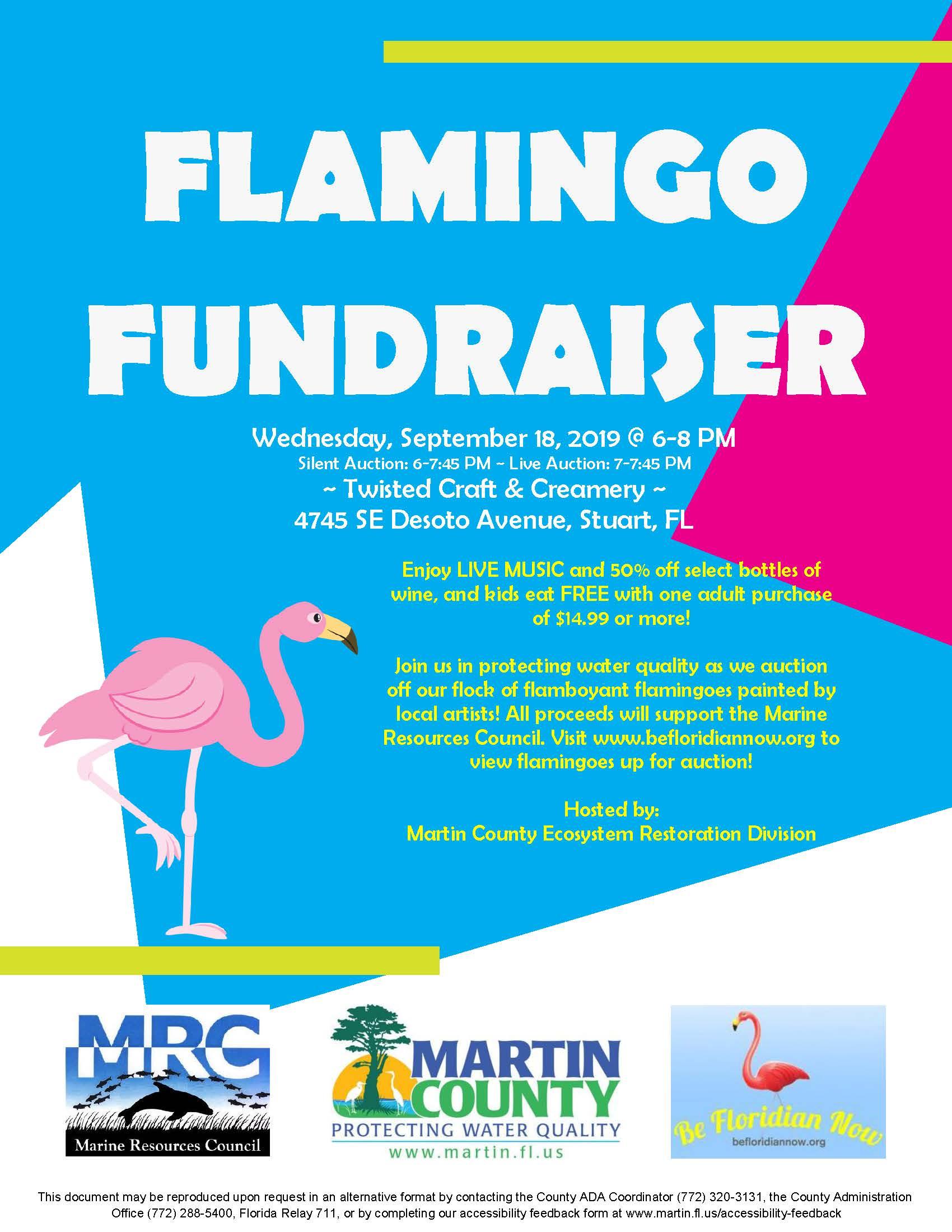Flamingo Fundraiser