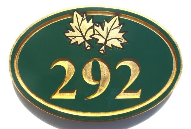 KA20862 - Unit or Suite Number Plaque