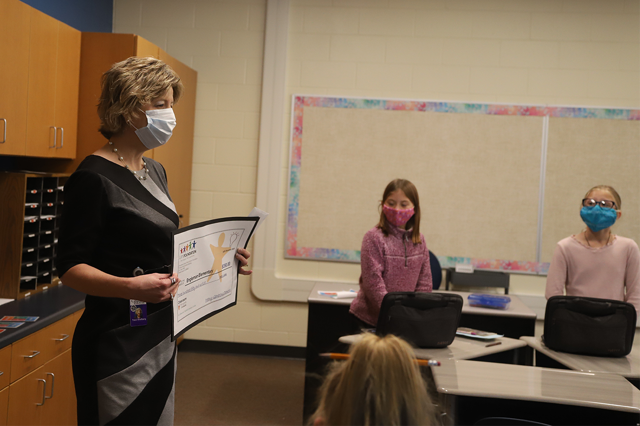 Accepting Classroom grant applications for Round Two
