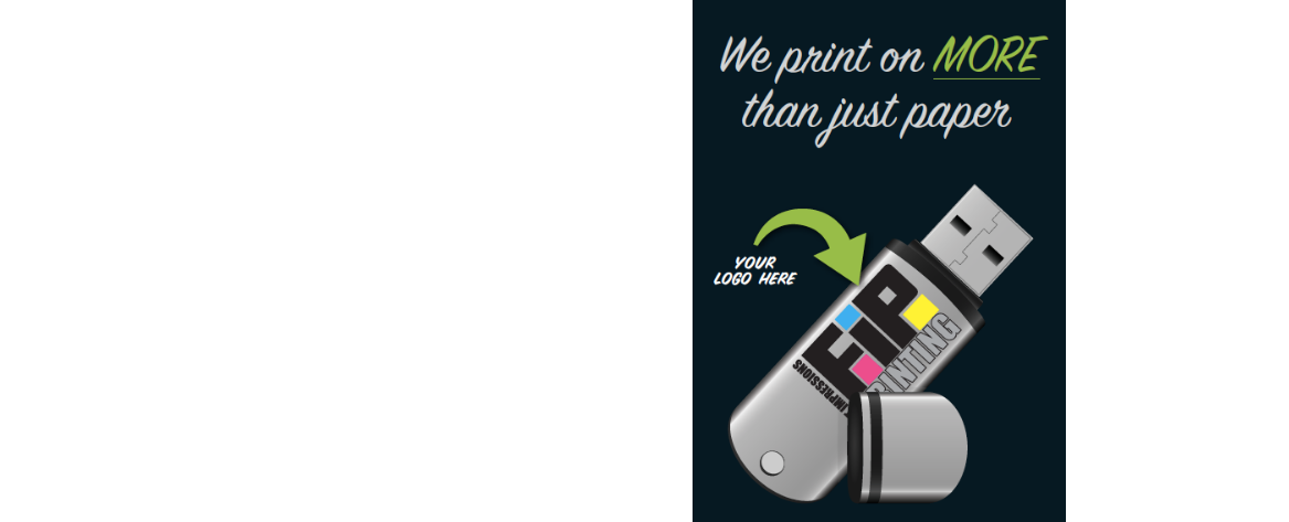 We Print On More Than Just Paper!