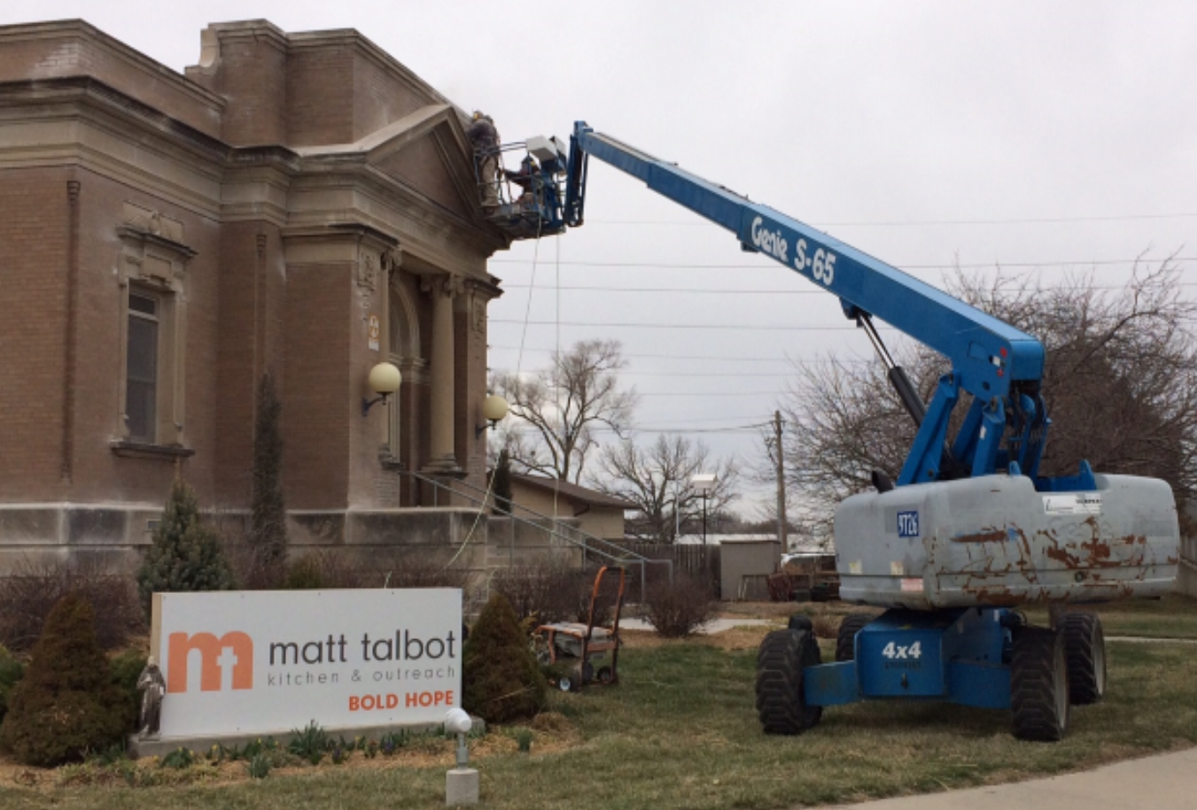 Preservation and Repair of Carnegie Library Building